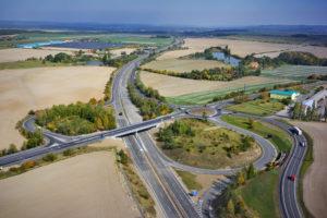 silniční síť